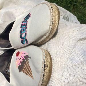Circus by Sam Edelman Shoes - Circus by Sam Edelman Ice Cream Canvas Espadrille